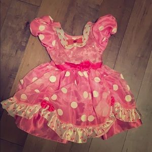 Minnie Mouse toddler dress 2T